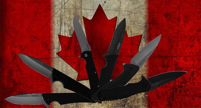 Канада запрещает ввоз почти всех складных ножей
