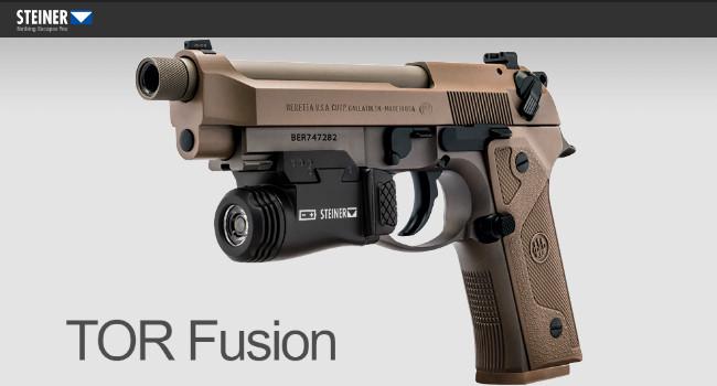 Комбинированный фонарь лазерный целеуказатель Steiner TOR Fusion