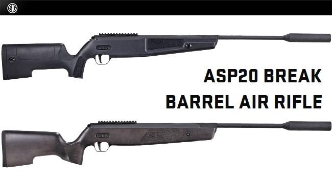 Пневматические винтовки Sig Sauer ASP20