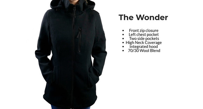 Женское пальто The Wonder