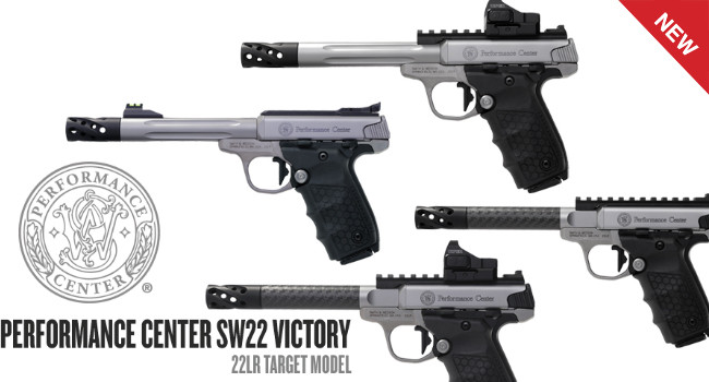 Пистолеты Smith & Wesson Performance Center SW22 Victory Target
