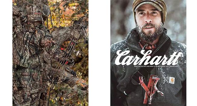 Mossy Oak и Carhartt