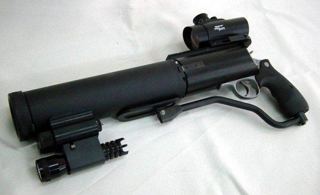 револьвер PSDR 3