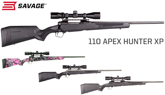 Винтовки Savage 110 Apex XP