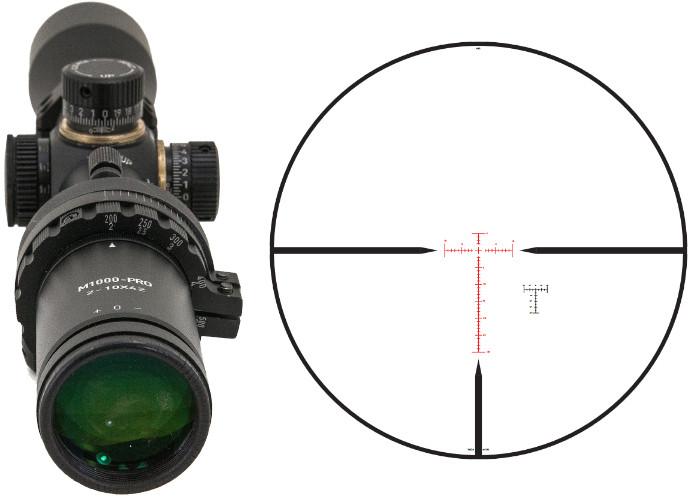 перекрестие HR1 прицела Hi-Lux ART M1000-PRO