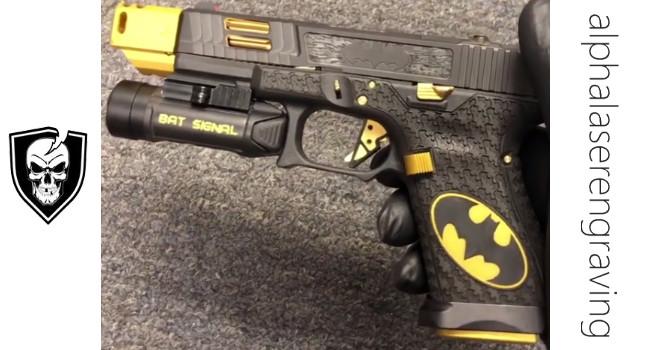 Кастомный пистолет Bat Glock от ALS