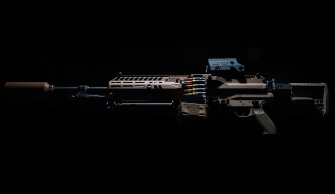 легкий пулемет армии США