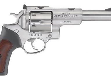 Новый револьвер Ruger Super Redhawk 10 mm