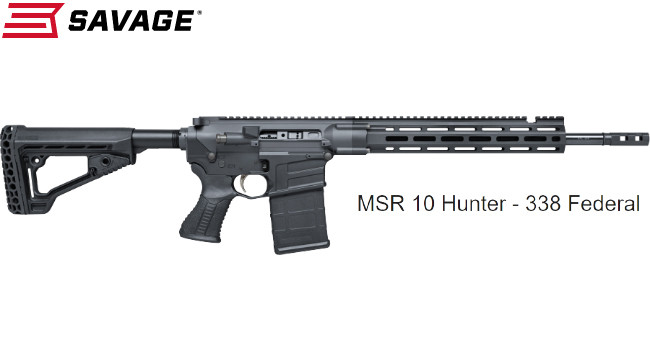 Карабин Savage MSR 10 Hunter .338 Federal