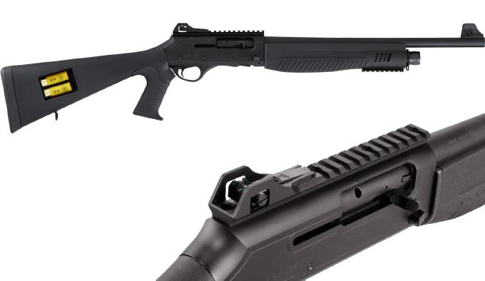 тактическое самозарядное ружье 12 калибра