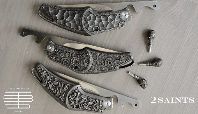 Нож Tashi Bharucha x 2 Saints Tactical Sinner