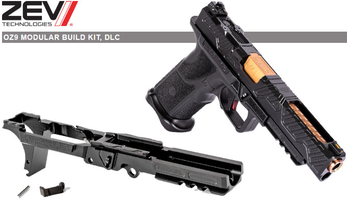 Пистолетный ресивер ZEV OZ9 MBK