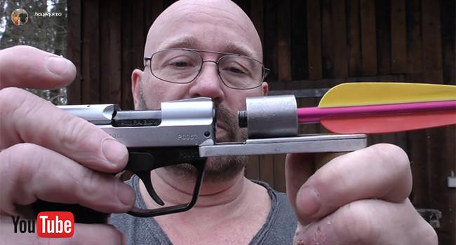 Холостые патроны для пуска арбалетных стрел