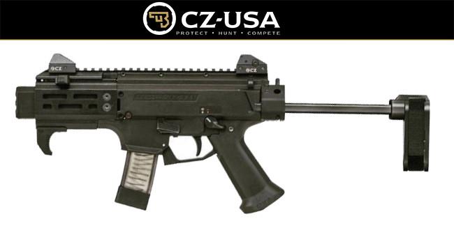 карабин CZ Scorpion SB Tactical SilencerCo