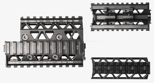 Цевье PR-03 Precision Picatinny Quad Rail