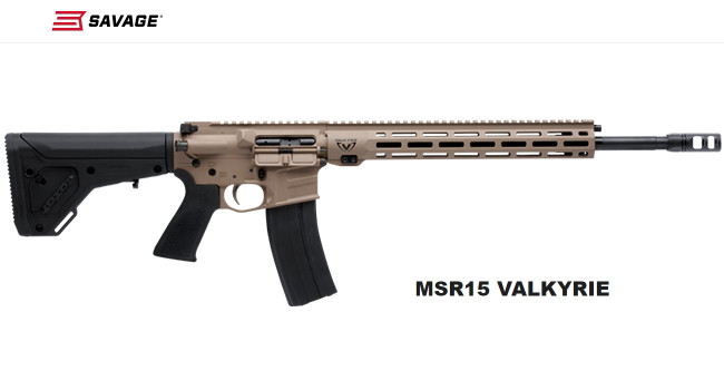 Винтовка Savage MSR 15 Valkyrie