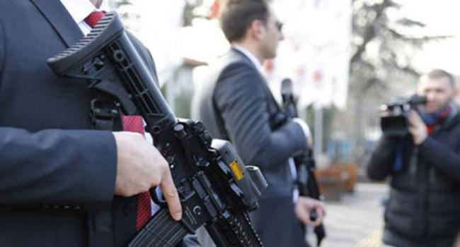 винтовки MKEK MPT-55 на службе Турецкой Президентской Гвардии