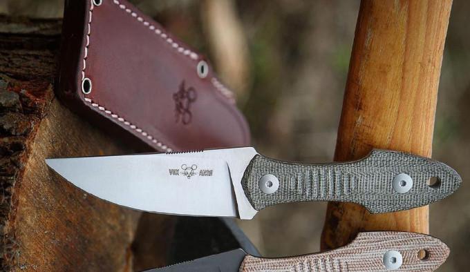 Нож GiantMouse GMF3 с ножнами
