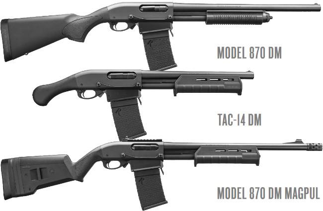 ружья Remington 870 DM