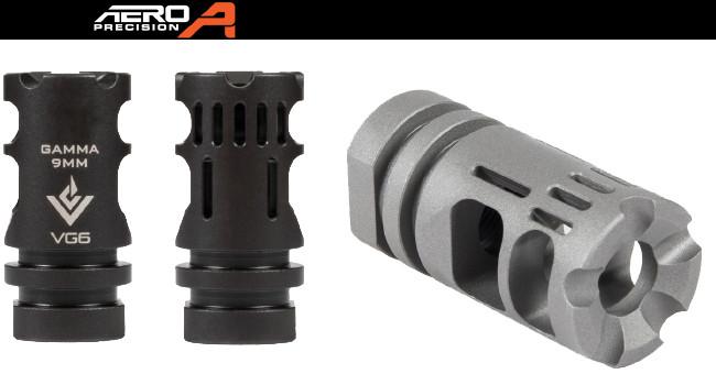 Дульный тормоз-компенсатор Aero Precision VG6 GAMMA 9mm