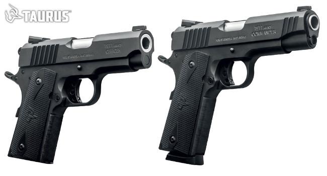 Пистолеты Taurus 1911 Commander и Officer