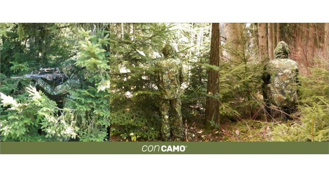 камуфляж CONCAMO в лесу