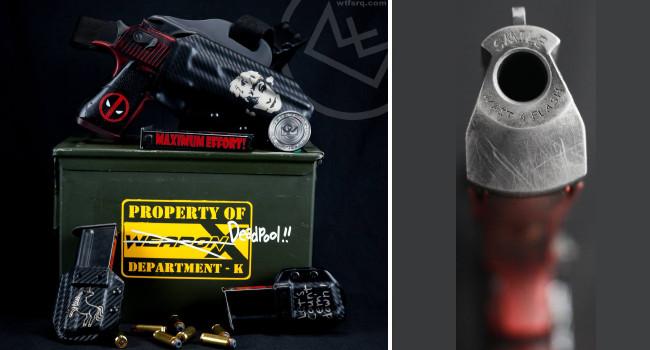 комплект пистолета WTF Deadpool Deagle