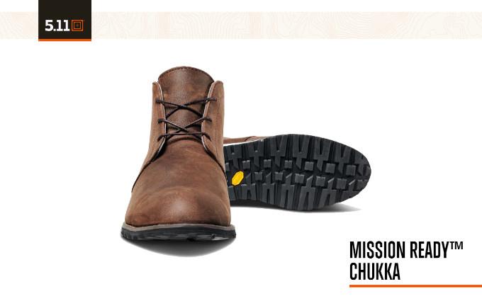 Ботинки 5.11 Tactical Mission Ready Chukka