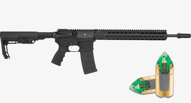 Винтовка Bushmaster Minimalist SD и пули .450 Bushmaster