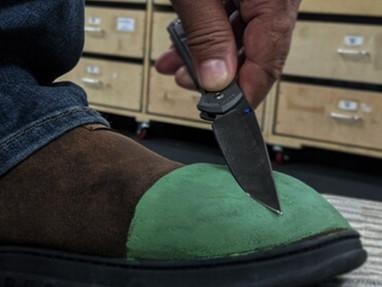 Тапочки для правки ножей Strop Shoes