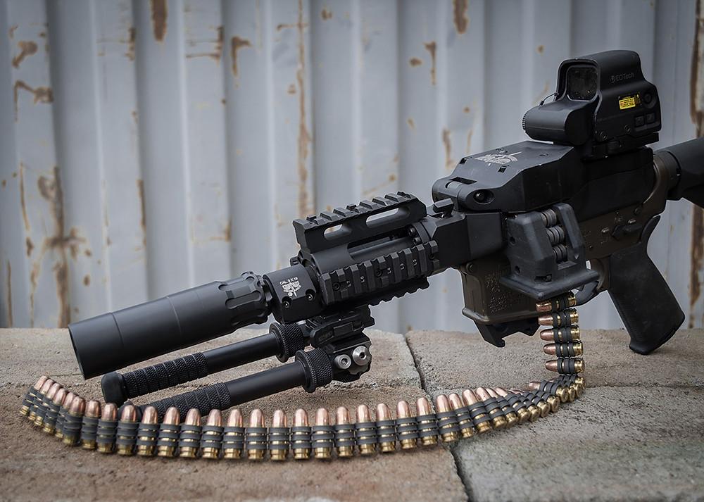 Obsidian 9 на винтовке