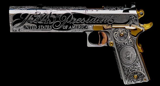 пистолет Дональда Трампа