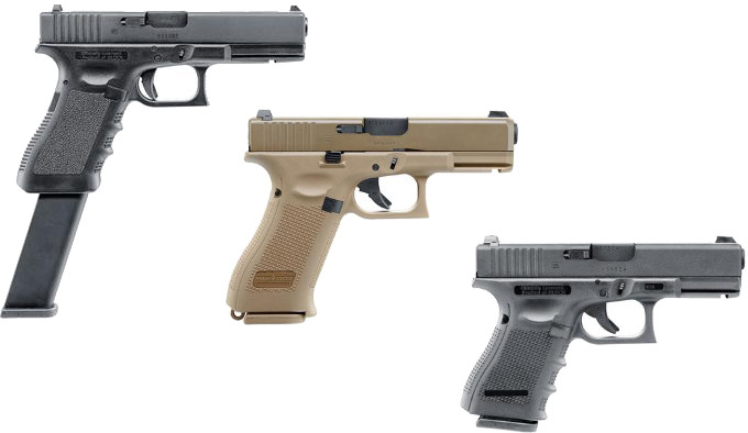 Страйкбольные пистолеты Umarex Glock