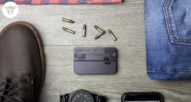 Первые выпуски складного пистолета Trailblazer LifeCard