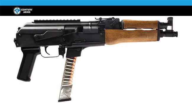 Пистолетный карабин Century Arms Draco NAK9 с магазинами Glock