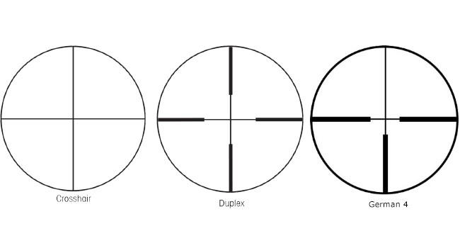 перекрестия Duplex, G4, CH