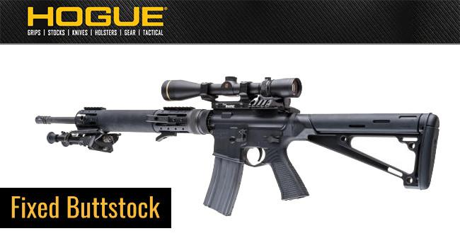 Приклад Hogue AR-15 M-16 OverMolded