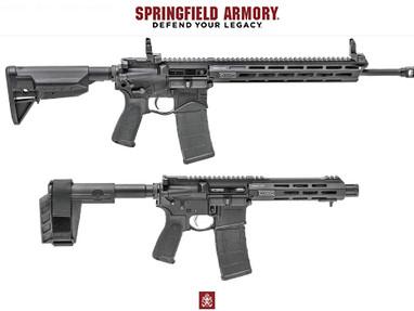 Новая серия винтовок Springfield Armory SAINT