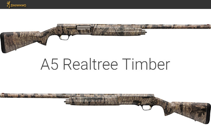 Ружье Browning A5 Realtree Timber