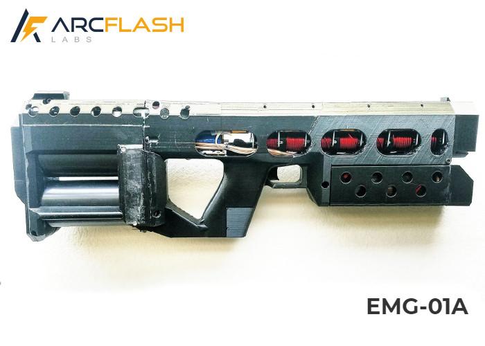 Напечатанный электромагнитный катушечный карабин ArcFlash EMG-01A