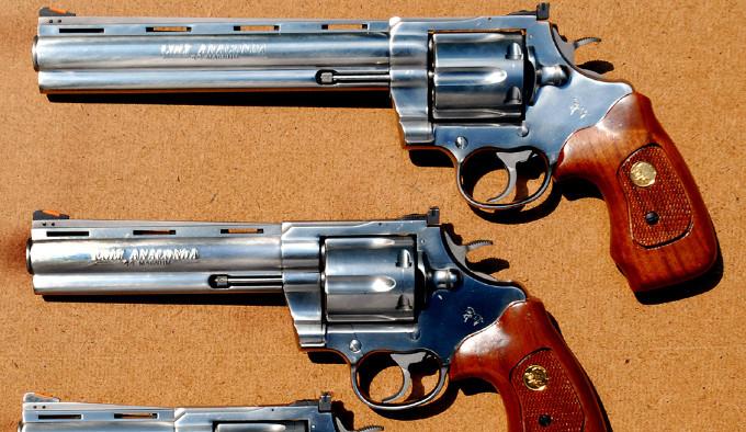 оригинальная линейка револьверов Colt Anaconda