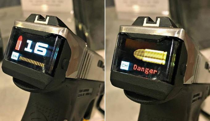 пистолетный затвор RadeTec Smart Slide с экраном