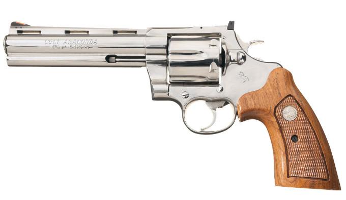официальная кастом-версия оригинального револьвера Colt Anaconda