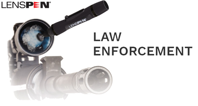 Набор для чистки линз LensPen Law Enforcement