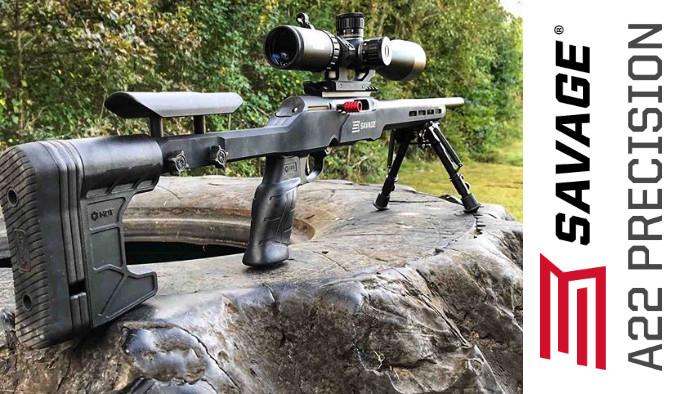 высокоточная самозарядная винтовка в калибре .22 Long Rifle