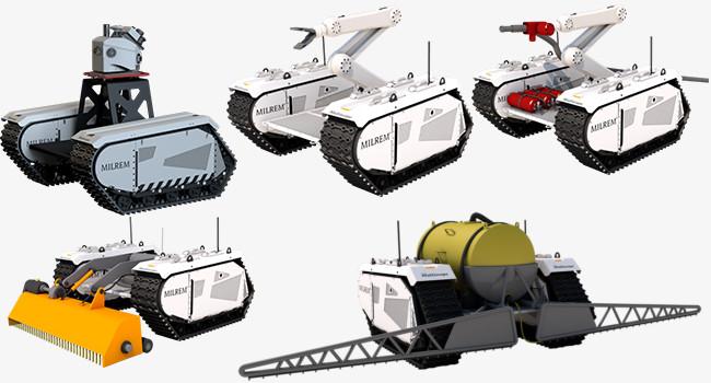 Milrem Robotics модельный ряд Multiscope
