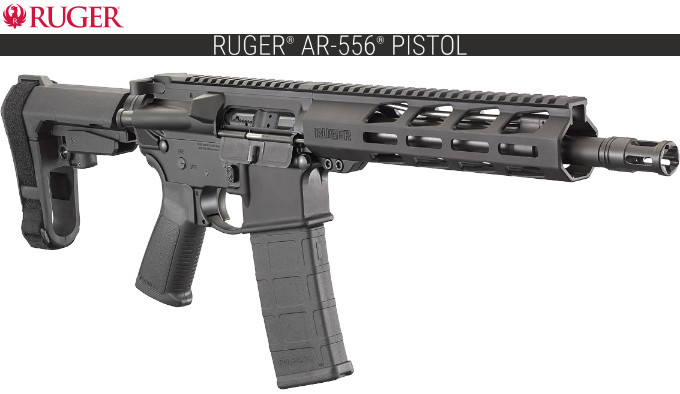 Карабин Ruger AR-556 Pistol