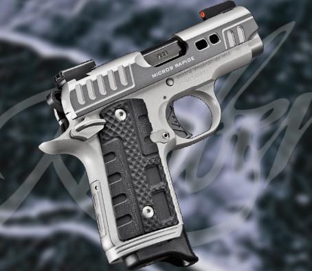 Пистолет Kimber Micro 9 Rapide Black Ice