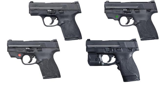 Пистолеты Smith Wesson M&P9 Shield M2