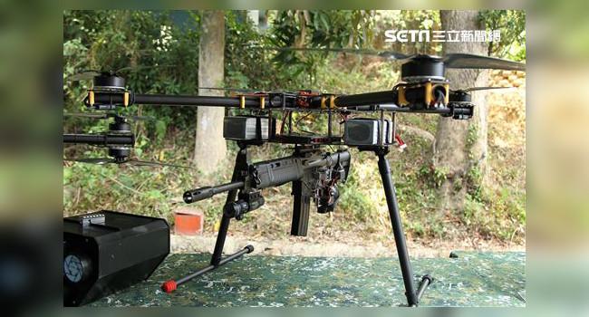 дрон с винтовкой T91
